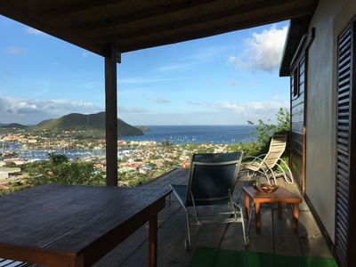 Photo for Top of the hill apt 6 - two bed apt with view