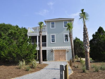 Photo for Beautiful Newly Built Ocean View Home with BHI & Shoals Club memberships