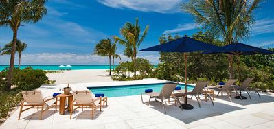 Photo for Beach House at Hawkbill -  Beach Front - Located in  Wonderful Grace Bay with Private Pool