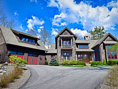 Photo for Elk Camp Lodge ~ Luxury, Views, Privacy, Picturesque Rustic Elegance