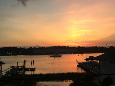 Photo for Beautiful Harbor View and Sunsets Await You!