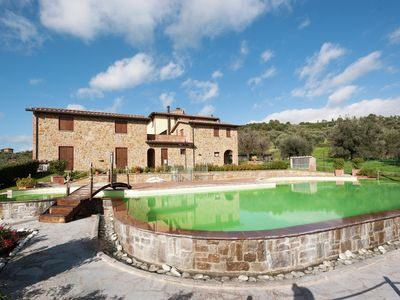 Photo for Stylish Mansion in Monte del Lago with Lake View