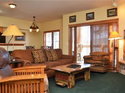 Photo for Los Pinos Townhomes: 2 BR / 2 BA townhome in Breckenridge, Sleeps 8
