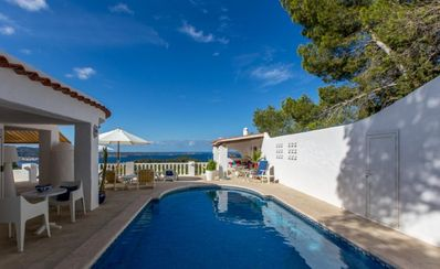 Photo for 3 bedroom Villa, sleeps 6 in Cala Gració with Pool, Air Con and WiFi