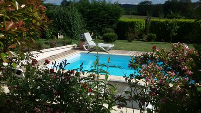 Photo for PRIVATE HEATED POOL 28-30 ° GITE FULL OF CHARM