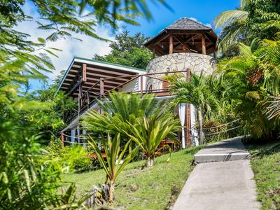 Photo for The Sugar Mill Tower - 2 BR Romantic Seaview Retreat