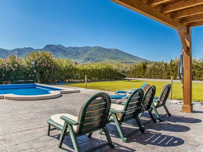 Photo for Cubo's Finca las Adelfas. Wifi, air conditioning, private pool, BBQ