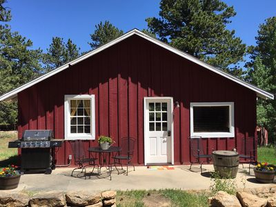 Photo for Charming Updated Rustic Cabin. Excellent Location Close to Town and RMNP! WIFI