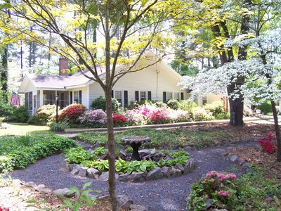 Photo for Arundel Garden Cottage in Historic District! Jacuzzi Hot Tub! Backyard Putting!