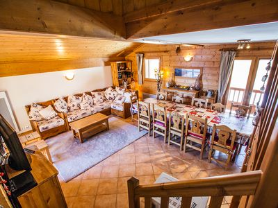 Photo for LARGE DUPLEX 120 M2 IN STANDING CHALET MGM WITH HEATED SWIMMING POOL 4 ****