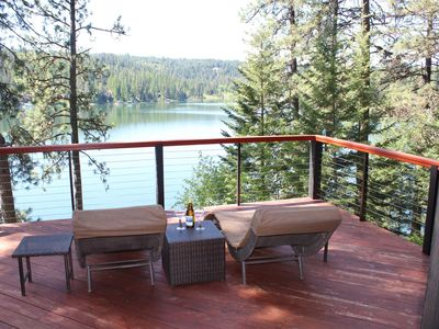 Photo for Incredible 4-5 Bedroom Waterfront Vacation Rental on Hayden Lake