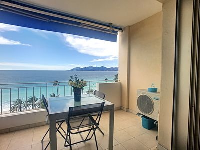 Photo for 120L RONGEA - Emplacement et vue exceptionnels - Apartment for 3 people in Cannes