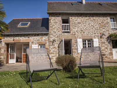 Photo for Pretty renovated house beach Val - Rothéneuf