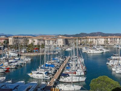 Photo for Frejus-Plage Apartment, Sleeps 4 with Pool and WiFi
