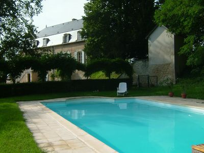 Photo for The Convent of Tracy: beautiful renovation, private pool; superb view of the Loire