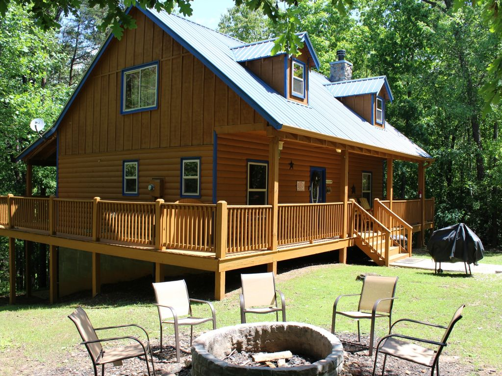Family Friendly Deluxe Private Cabin Near Helen Ga Cleveland North Georgia Mountains