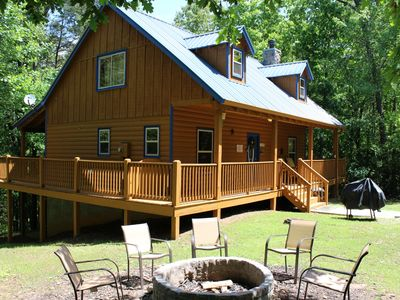 Photo for Family Friendly, Deluxe, Private Cabin near Helen GA!