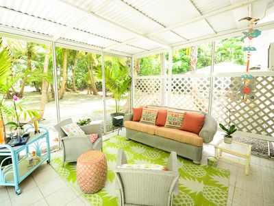 Photo for COCO PALMS 2 , BRAND NEW RENTAL ,COZY, 1BED APT,  ON THE 7 MILE BEACH CORRIDOR