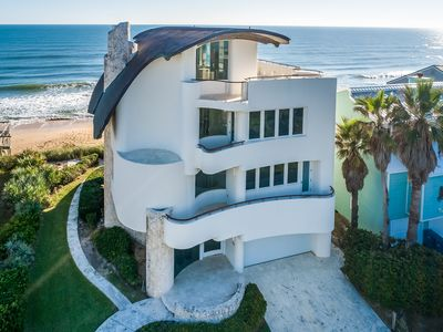 Photo for OCEANFRONT ARCHITECTURAL MASTERPIECE - THE QUINTESSENTIAL BEACH HOUSE