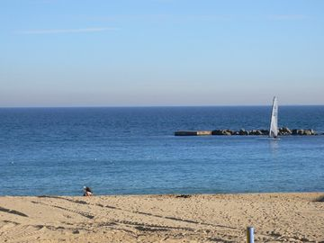 City Center of Barcelona and 50 m from Beach, terrace, garden, WIFI and parking