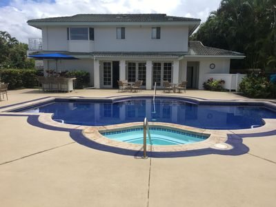 Community pool and adjacent. party room for your enjoyment.