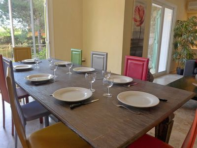 Photo for Vacation home Villa Rosa in Bormes-les-Mimosas - 10 persons, 4 bedrooms