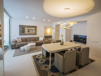 Photo for Luxury design apartment in Patio Blanco located in the best area of Ibiza !!