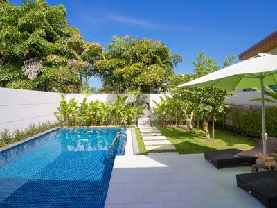 Photo for Vanille - Design luxury 2 bedroom villa with pool and private garden