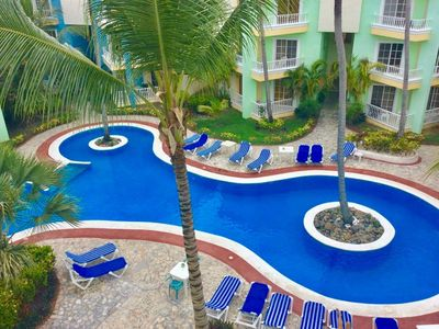 Photo for 2 Floors 2 BR Penthouse within 5 minutes walk to the beach!