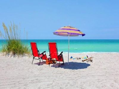 Photo for Lovely Siesta Key Villa A, Heated Pool and Private Beach Access