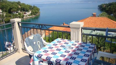 Photo for Apartment Marin  A3(4+1)  - Splitska, Island Brac, Croatia