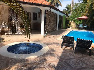 Photo for 3 bedroom house with own Pool