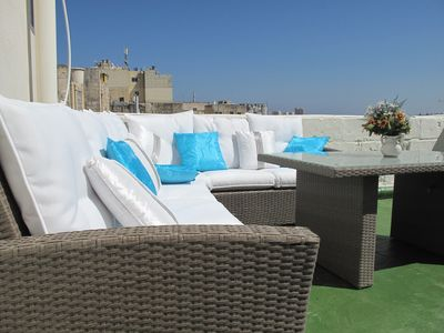 Photo for Traditional Maltese House Of Character With Panoramic Harbour View