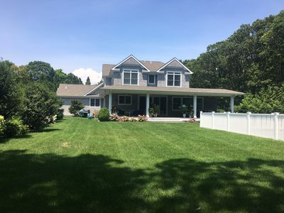 Photo for Newly furnished, family friendly home available in Westhampton Beach
