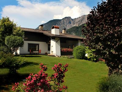 Photo for House, right in the beautiful panorama of the Montafon mountains