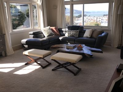 Photo for Sunny 4 bed 2 bath flat with bay views in prime pacific heights neighborhood