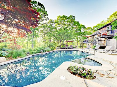 Photo for Moonakis River 4BR w/ Heated Pool & Spa, Lush Gardens & Kayaks, Near Downtown