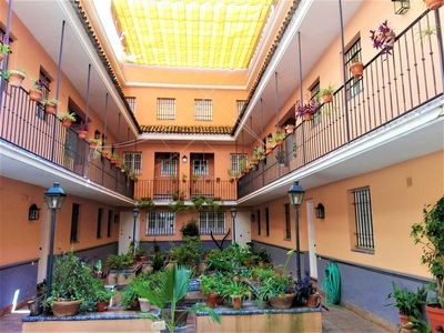 Photo for Duplex apartment in Barrio de San Bernardo with parking