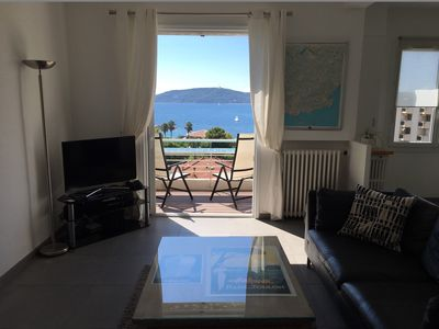 Photo for T3 Toulon Mourillon panoramic view on the bay