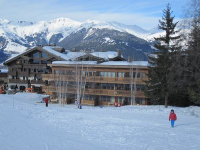 Exceptional location, on skis, to consume without moderation!