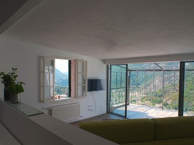 Photo for Seclusion overlooking the valley, Casa Elisa in Montalto Ligure