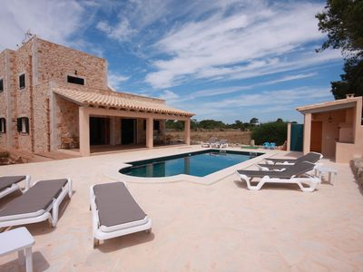 Photo for New modern equipped chalet near the Cala Mondrago