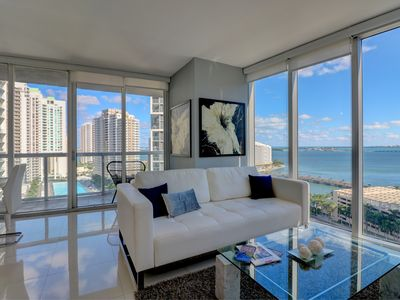 Photo for W Hotel | IconBrickell | LUX 2B/2B w/ Water View | Free: Spa, Pool, Gym, Parking
