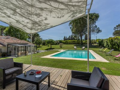 Photo for CHARMING SWIMMING POOL HEATED 15 mn CENTER AIX