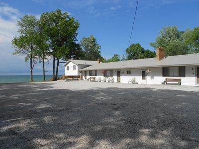 Photo for Newly Remodeled Beach House on the Lake , 600 ft. of private beach