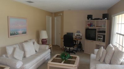 Photo for REDUCED RATES 4 BED POOL HOME WITH GAME ROOM FREE WI-FI MINUTES FROM DISNEY!!!!!
