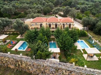 Photo for 9BR Villa Vacation Rental in Bali, Rethymno, Greece