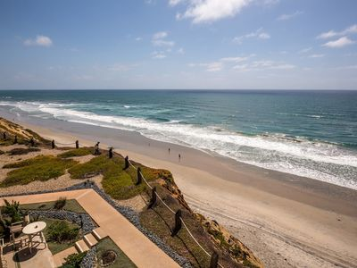 Photo for Oceanfront 3 floor unit - Incredible view looking directly down to the beach