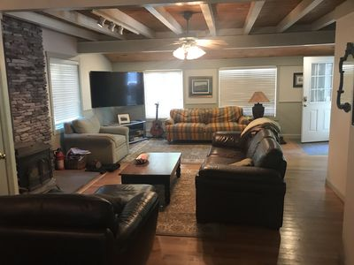 Photo for 7 bedroom Home has it All! Hot tub,fire pit, game room.