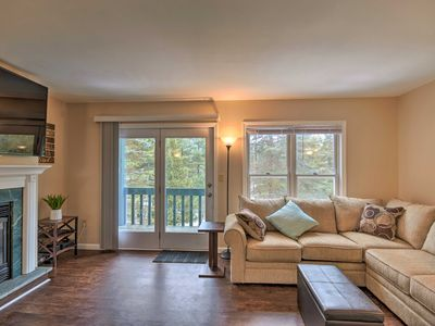 Photo for NEW! Lake Placid Townhome - 9 Mi to Whiteface Mtn!